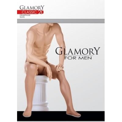Pánské klasické punčocháče 20 Den Glamory